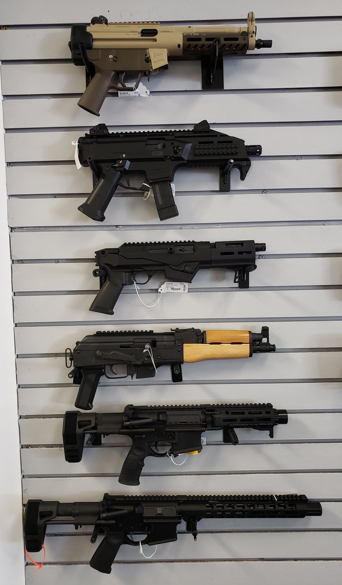 We have PDWs and PCCs! All platforms, many calibers. See them at New American Arms at Willow Lawn. #pdw #pcc #arpistol #akpistol #danieldefense #scorpionpic.twitter.com/CwUd2IGIrv