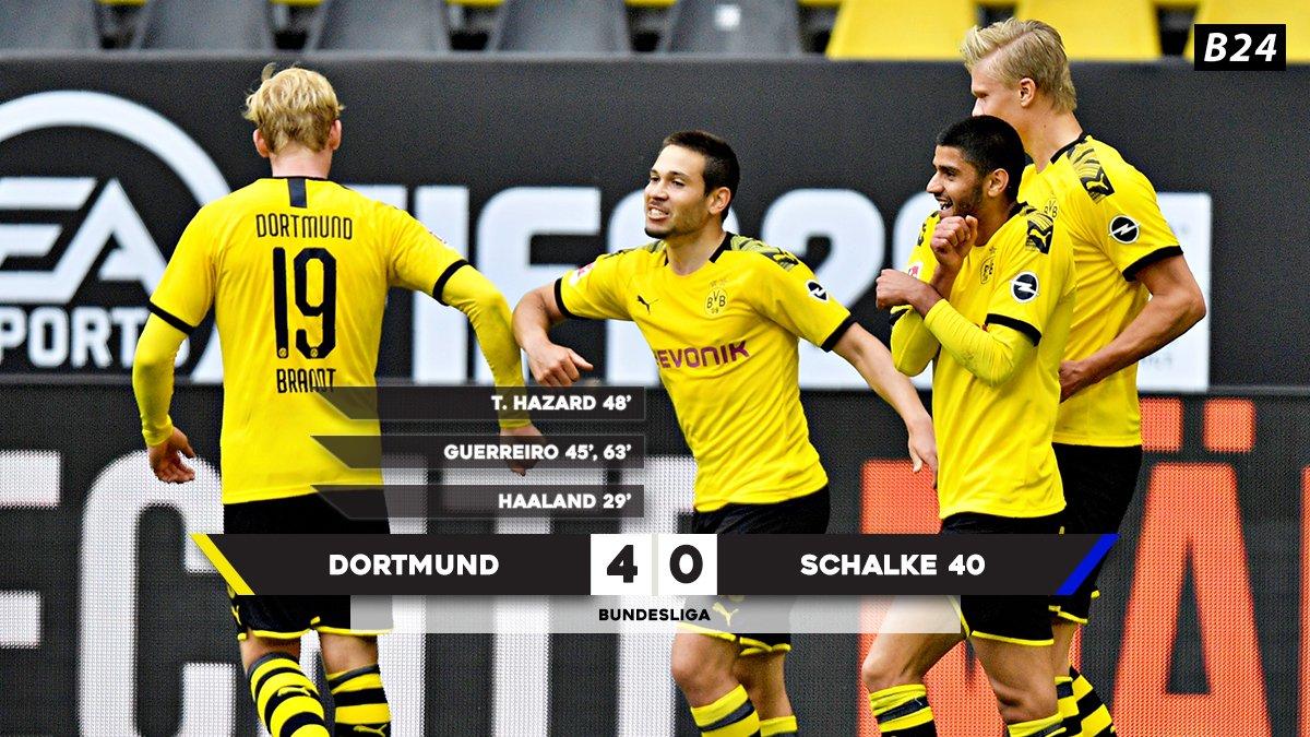 Dortmund não desiludiu e venceu o Revierderby com uma goleada 🔥
