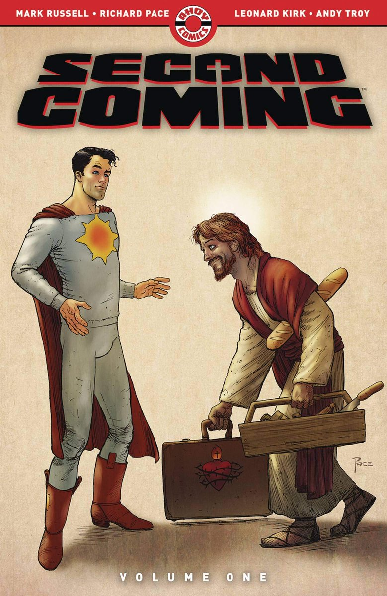 Second Coming is easily as good as The Flintstones. Bring on Volume 2! Five out of five stars. @Manruss @AhoyComicMags  https://t.co/yv1YA96y6B https://t.co/ZZz3Gm1qOB