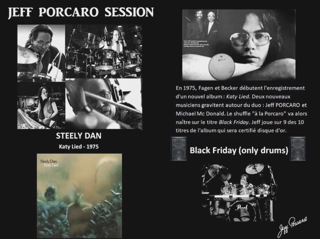 Black Friday  Jeff Porcaro only drums   https:// youtu.be/TAITl2PJv8Q     <br>http://pic.twitter.com/YHzb6cQTIy