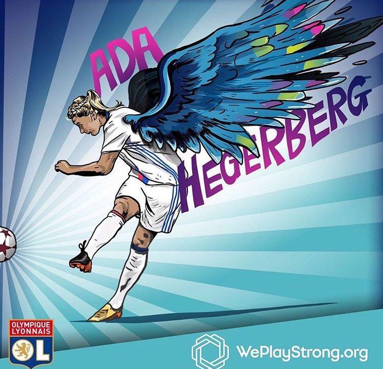Melhores gols da Ada Hegerberg na Women's Champions League; a thread: