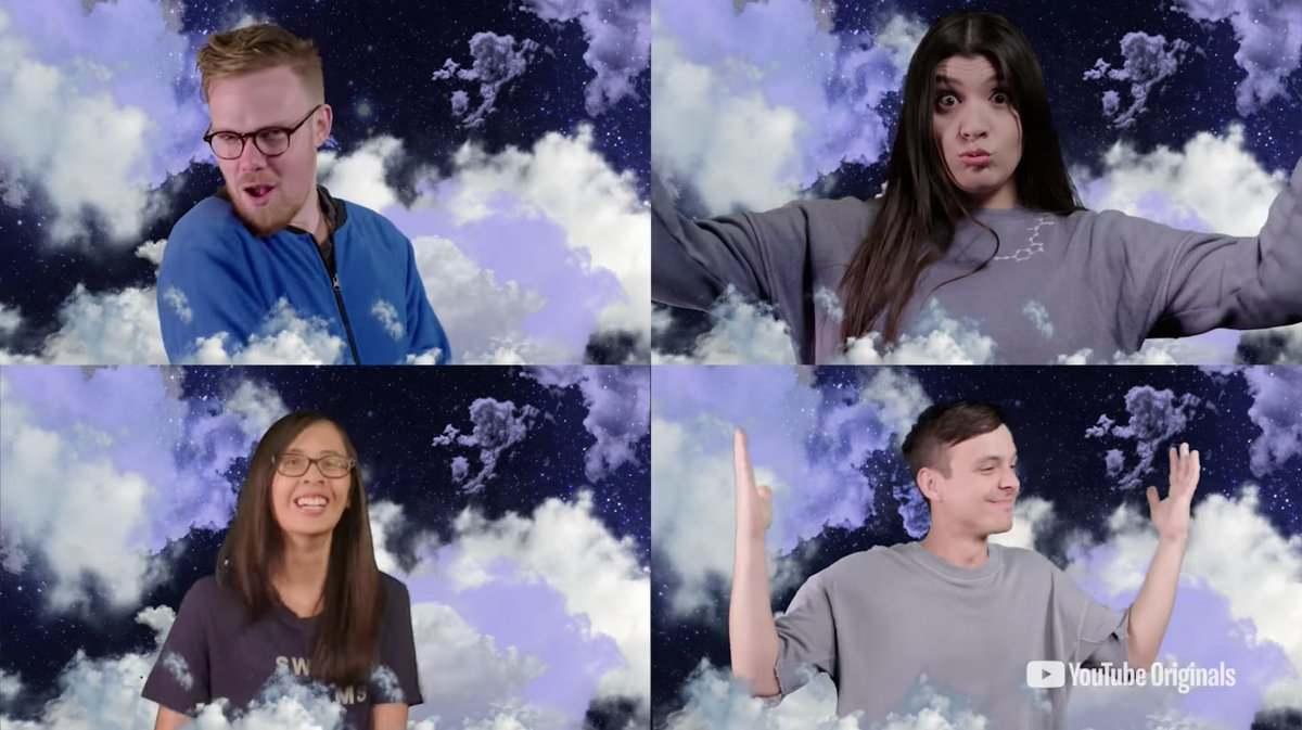 These creators are taking part in a new YouTube Originals reality show - Sleeping With Friends. It's so epic, it will put you to sleep 😴 Here's everything you need to know... https://t.co/ds0PVbOz17 https://t.co/aofgVxR074