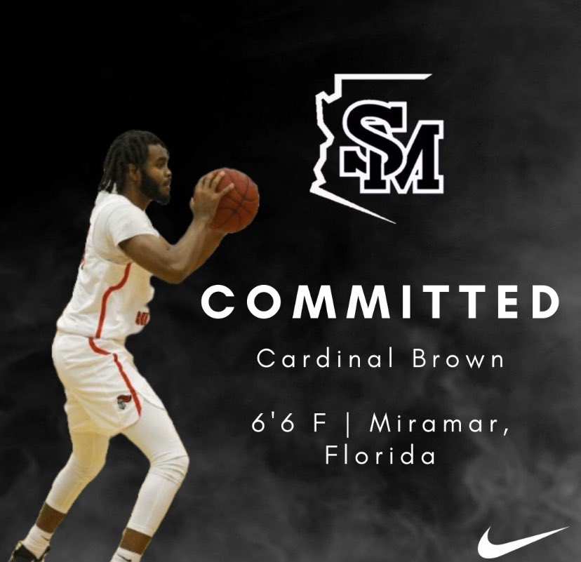 We are excited to announce the addition of @Rea1CJB 6'6 sophomore transfer out of Miramar, Florida! Welcome to the family! #SMCC #TGHT https://t.co/kVRduwlMIW