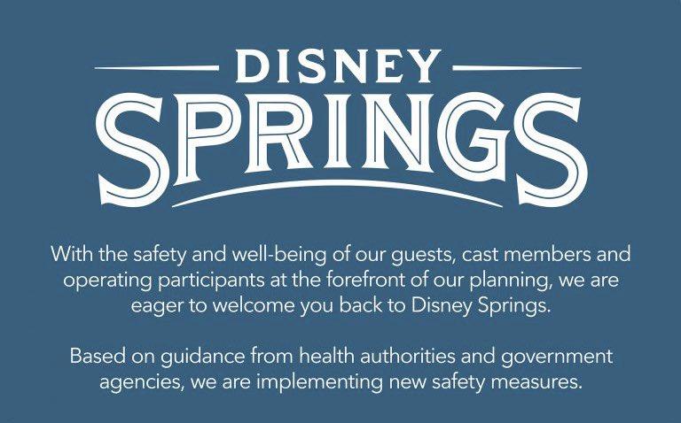 Guidelines for Disney Springs reopening on May 20th.  #disneysprings #disneyspringsorlando #disneyreopening #disneyreopen #disneyspringsreopening #wdw #waltdisneyworld #mouserulesapply #disneyparks #disneyworld #disney