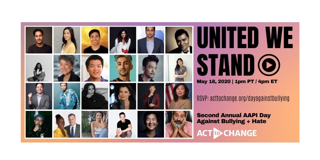 🎉🎉TWO DAYS TILL #UNITEDWESTAND 🎉🎉  Join us to #EndBullying and ensure that every kid in our communities can feel safe and proud in their identities. https://t.co/XpZ8VEedfg