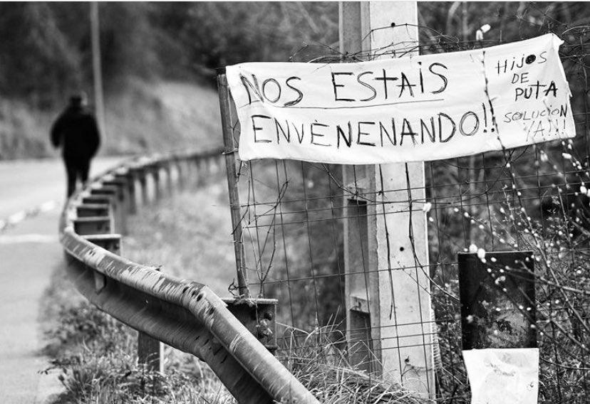 Joaquín y Alberto llevan 100 días sepultados entre amianto y basura. #ZaldibarArgitu https://t.co/F8qahPu7hI