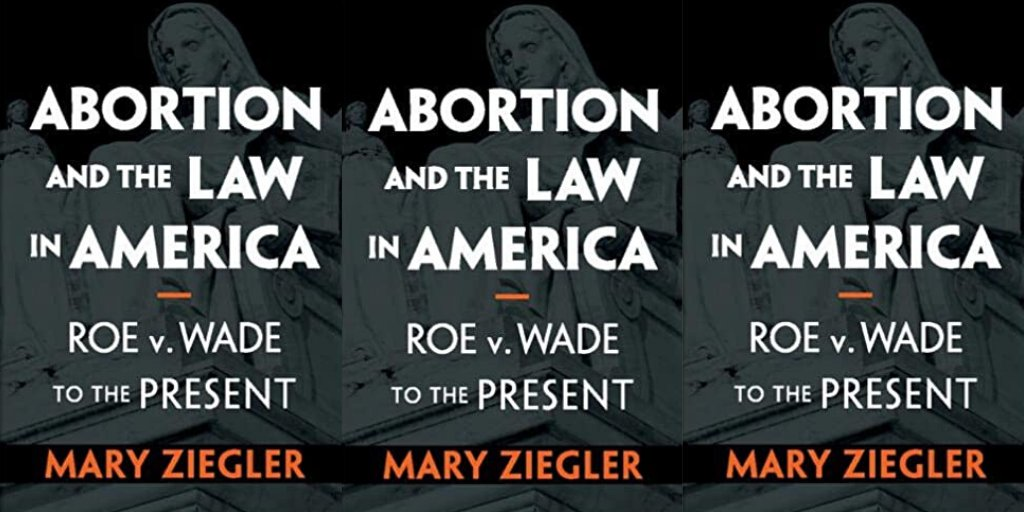 Abortion and the Law in America: Roe v. Wade to the Present by Mary Ziegler  https:// amzn.to/2T6PpWC      #Books #Abortion #RoeVWade #Law #GenderRights<br>http://pic.twitter.com/zMqo3p5FVo