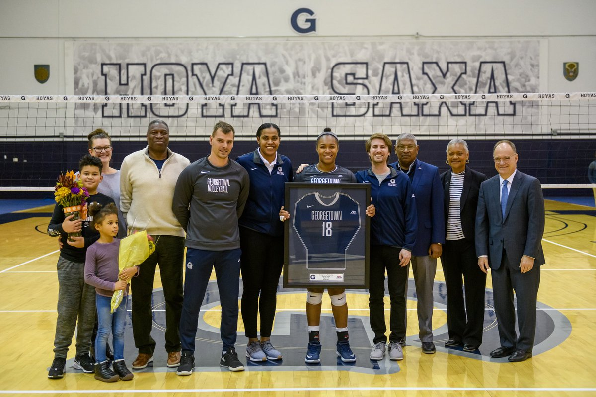 Congratulations to our seniors and the mark you have left on the program! We are going to miss you next season. #HoyaSaxa
