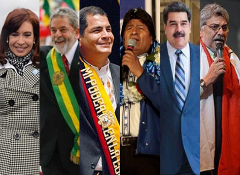 Other infamous members of the Forum are Brazil's LULA, Spain's Zapatero, Argentina's Kirschner and Fernandez, Ecuador's Correa, Bolivia's Morales, Venezuela's Chavez and Maduro, Cuba's Castro, etc. Got the picture?  The top-shit of world's communism. <br>http://pic.twitter.com/pMZL3KN7Ux