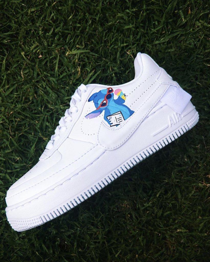 air force 1 con stitch