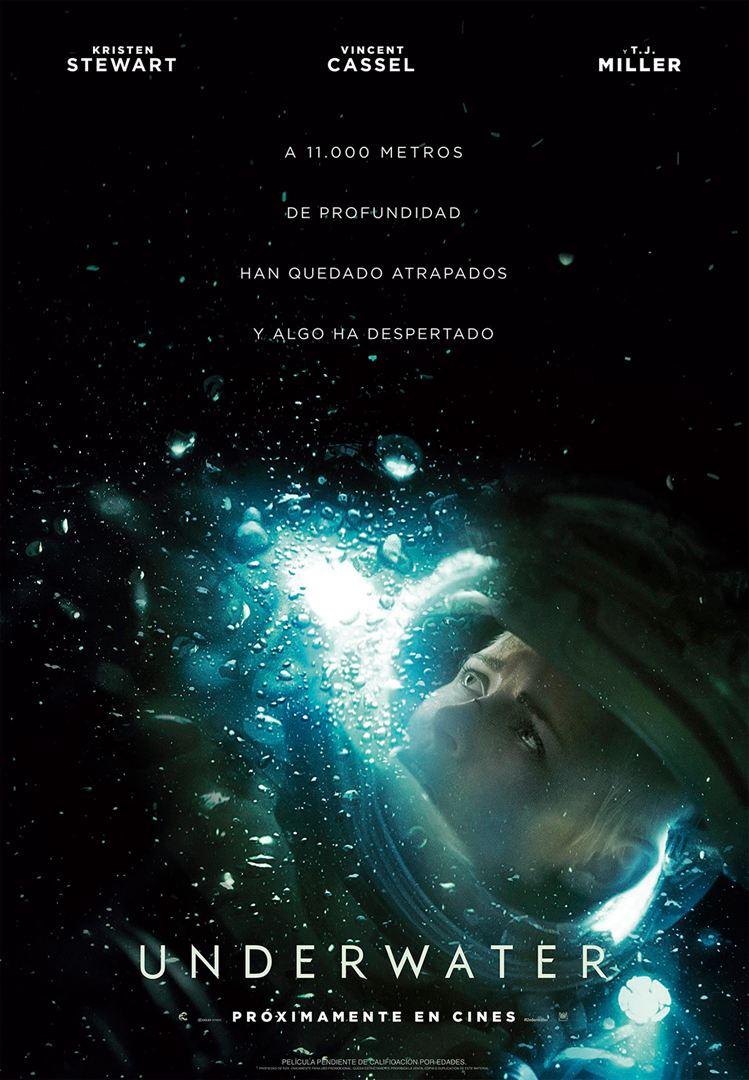 #Underwater toma prestadas ideas de aquí (Alien) y de allá (Cthulhu) para crear una película genérica pero amena, de tal forma que es tan fácil criticarla por sus convencionalismos argumentales como disfrutarla por su dinamismo y diseño de producción; que cada uno decida. 6'5/10 https://t.co/7JmG0bmr4A
