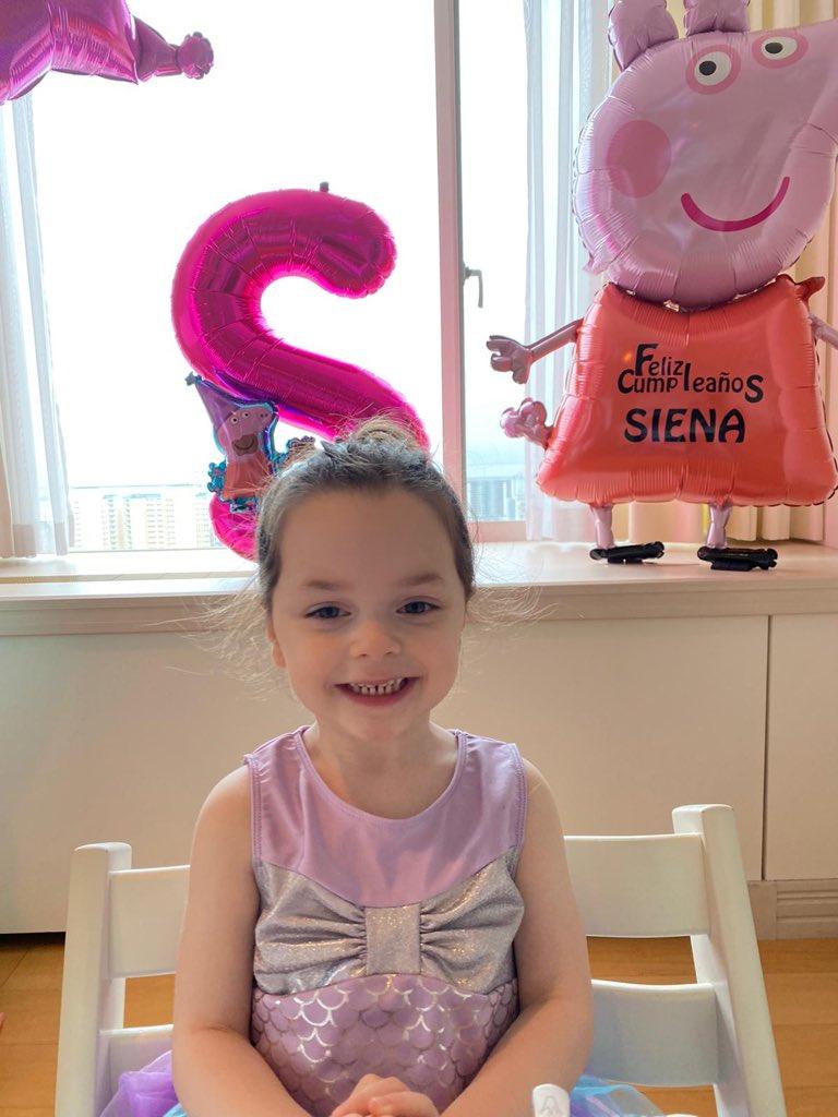 Felices 3 añitos mi princesa de alma libre, mi pequeño terremoto, mi niña voladora..!! #16/05/2017 #siena #ravapas💫  3歳の誕生日おめでとう!私のプリンセス、わんぱくで自由に羽ばたくハート!