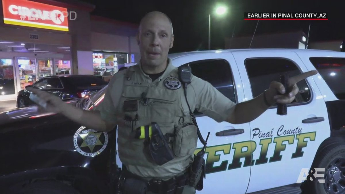 """""""You made an adult decision there's adult repercussions."""" #LivePD"""