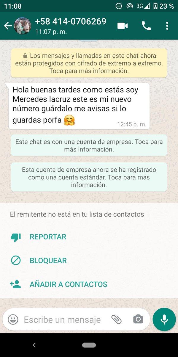 #Hoy #AHORA número telefónico haciéndose pasar por #PERSONA #conocida para #estafa #mosca @FERMINMARMOL #Cicpc