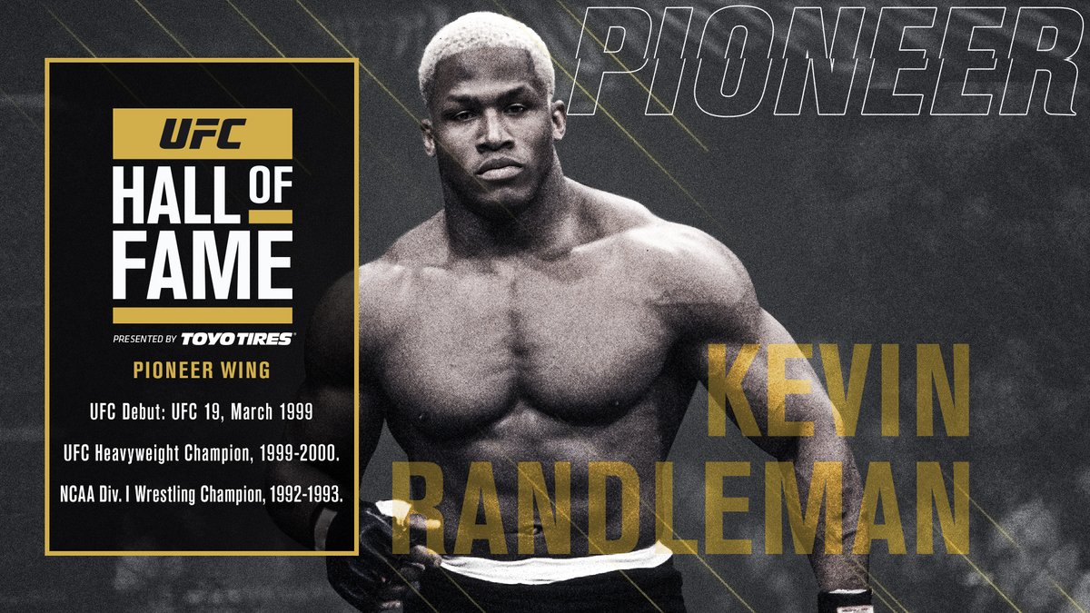 A FORCE.   🏆 Kevin Randleman is headed to the #UFCHoF (B2YB @ToyoTires) https://t.co/9cTREWXIK3