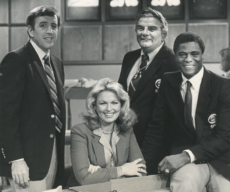 """Jason Wilde on Twitter: """"Every Sunday growing up in Wisconsin, it was Brent Musburger, Phyllis George, Jimmy The Greek and Irv Cross for me before watching the #Packers, who invariably played at"""