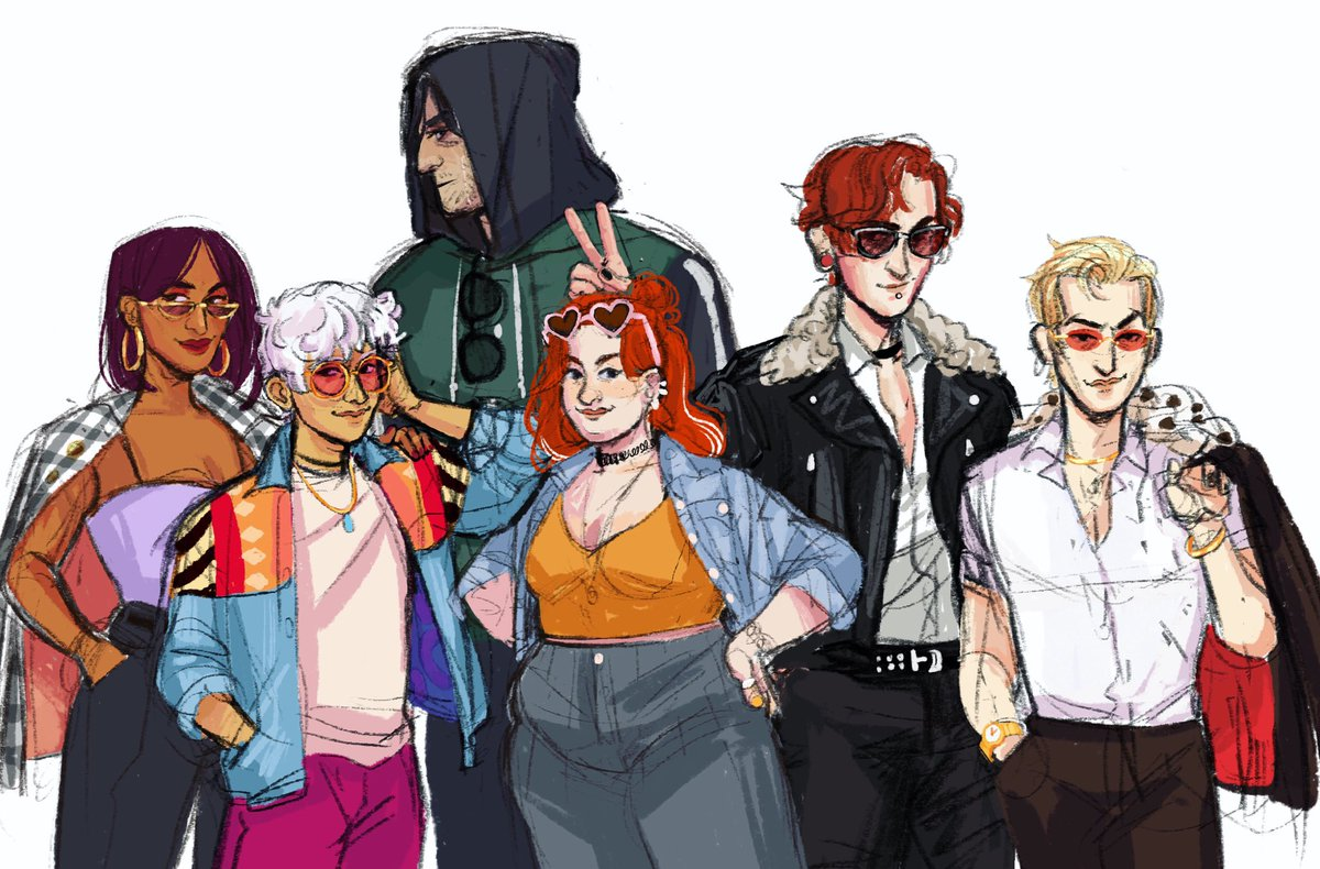 The gang's all here bayBEEE . #TheArcanaGame #TheArcana #thearcanafanart @NixHydraGamespic.twitter.com/NmRVCvnmMr