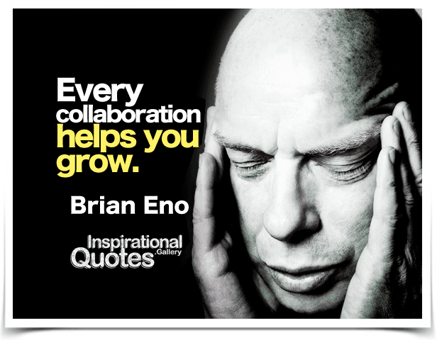 Happy 72nd Birthday to Brian Eno, who was born May 15, 1948 in Woodbridge, Sussex, England.