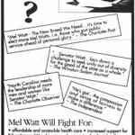 Image for the Tweet beginning: Remember Mel Watt? I remember