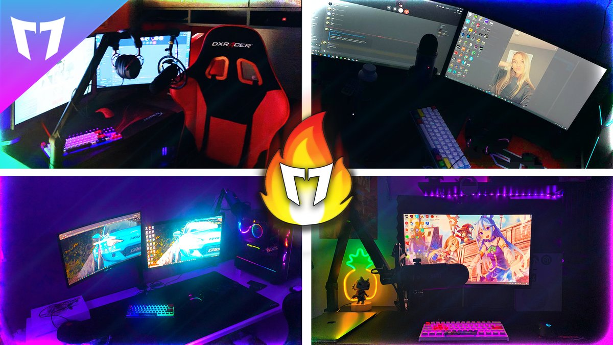 M7 Setup Tour 2020 Check it out now! #WeAreM7 #SetupTour #2020  Leave a comment on the video with who you think has the nicest setup!   Watch the video here: https://www.youtube.com/watch?v=nDOLNL3mE9g…pic.twitter.com/Tm7AgasNfe