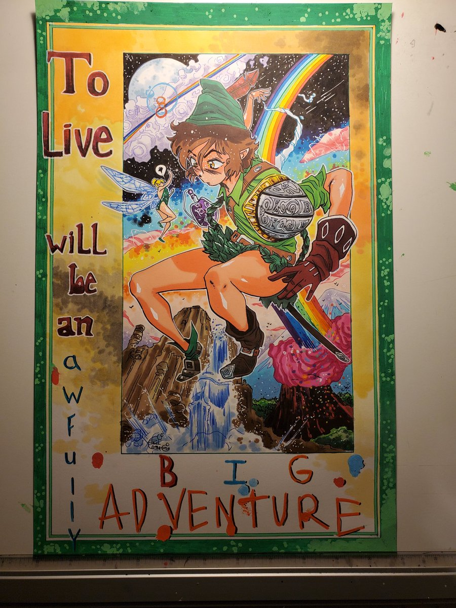 Peter Pan 11x17 $275.00 Free shipping in the states Message if interested!