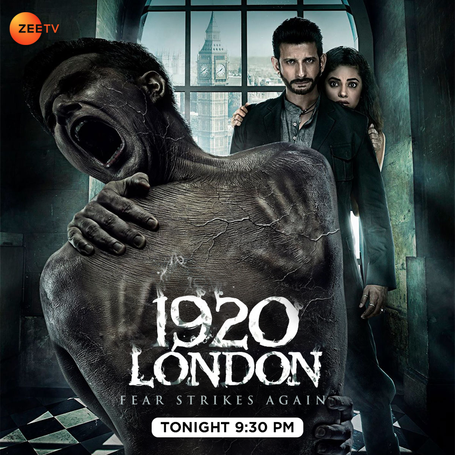 Will #Shivangi be able to save her husband from this evil spirit? Watch her story unfold in #1920London tonight at 9:30 PM, only on #ZeeTVUK!  @MeerraChopra @TheSharmanJoshi https://t.co/t1Re5bAp09