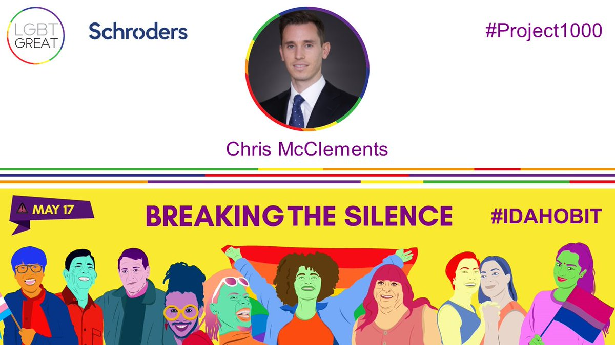 🌈 Diversity and inclusion is important at Schroders, so visible role models are important too in showing support for our colleagues and wider society. Read the story of Chris McClements from our New York office: https://t.co/HsUScxHuSe #Project1000 #SchOUT #IDAHOBIT @LGBTGreat https://t.co/p2AIsRSJHP