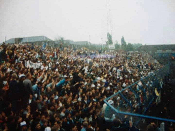ON THIS DAY 1987: Leeds United at Oldham Athletic #LUFC