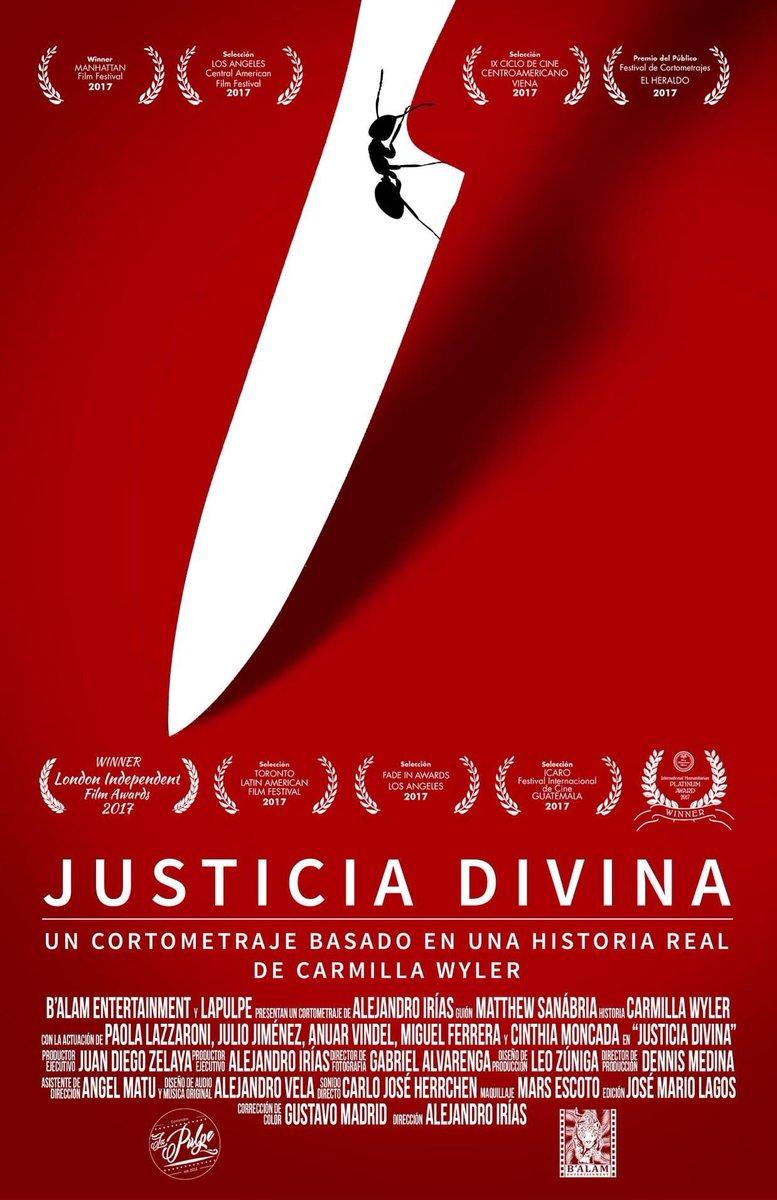 El VII FICS presenta el cortometraje de hoy:  JUSTICIA DIVINA Ficción. Alejandro Irías. 10 min. Honduras Un detective de la policía de investigación criminal tendrá que confrontar el hecho de que la justicia no siempre da lo que merece.  Enlace directo: https://t.co/008FGeYwC9 https://t.co/xxrersayAV