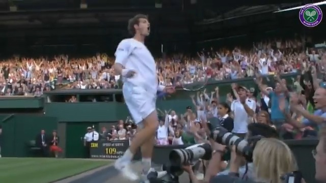 The day @andy_murray mania truly began 😉 Join us at 4pm (BST) as we relive his classic 2008 encounter against Richard Gasquet, right here on Twitter 🙌 #Wimbledon