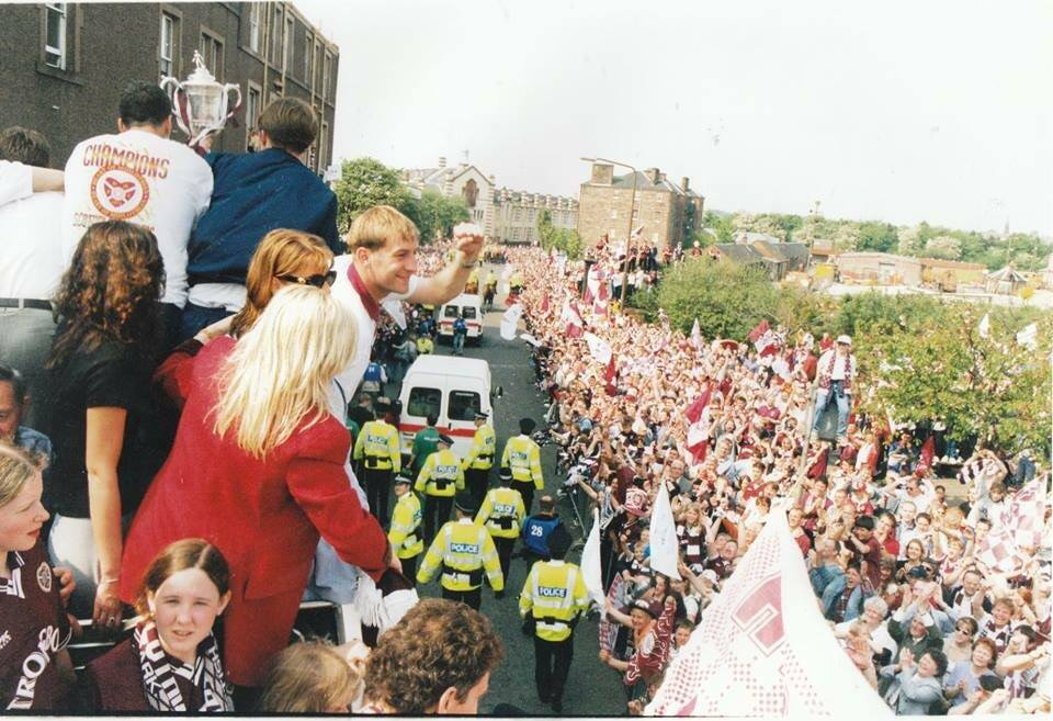 ON THIS DAY 1998: Hearts Trophy parade #HMFC
