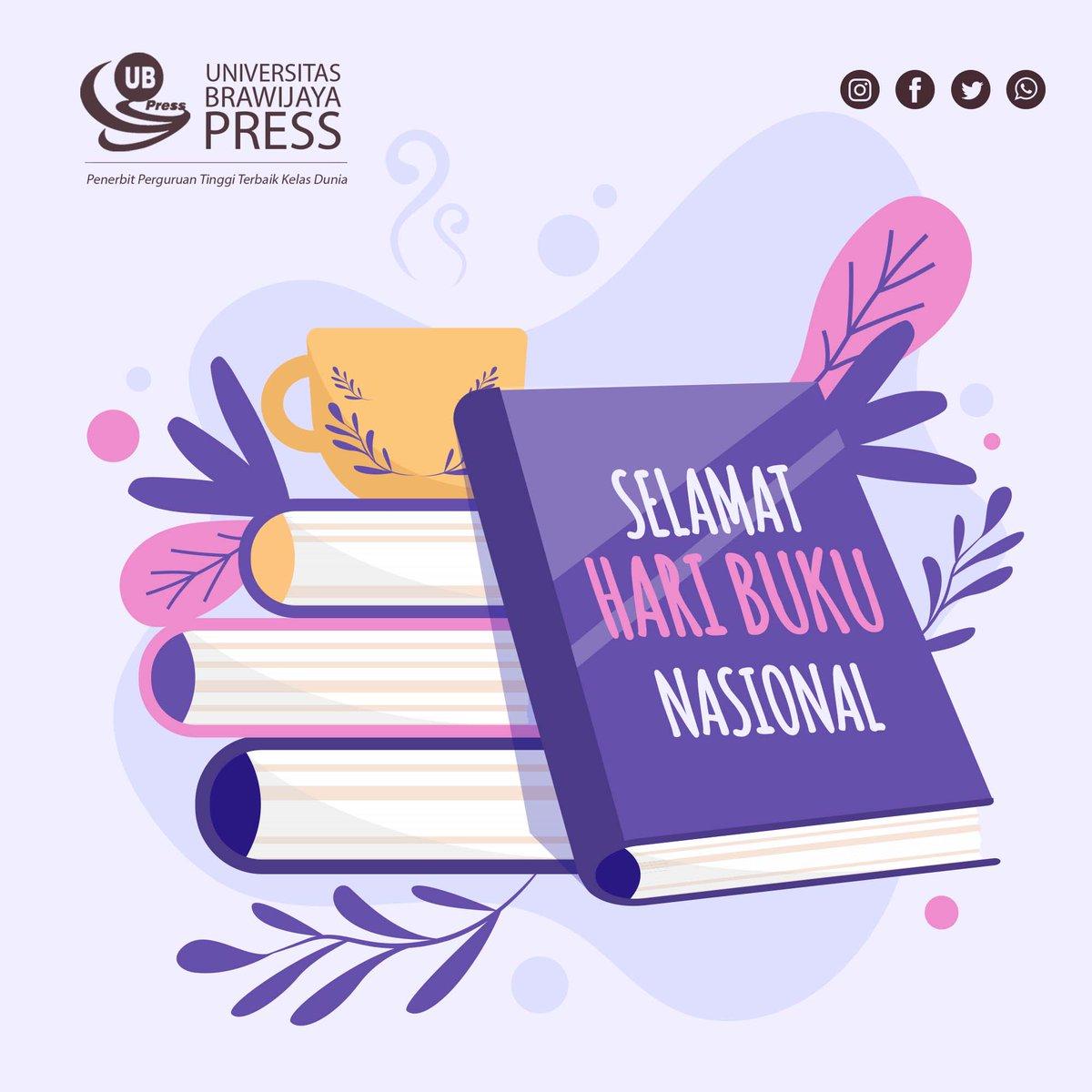Replying to @UBPress: Banyak baca, banyak tau. Banyak baca, banyak ilmu.  Selamat Hari Buku Nasional teman-teman UB  :)