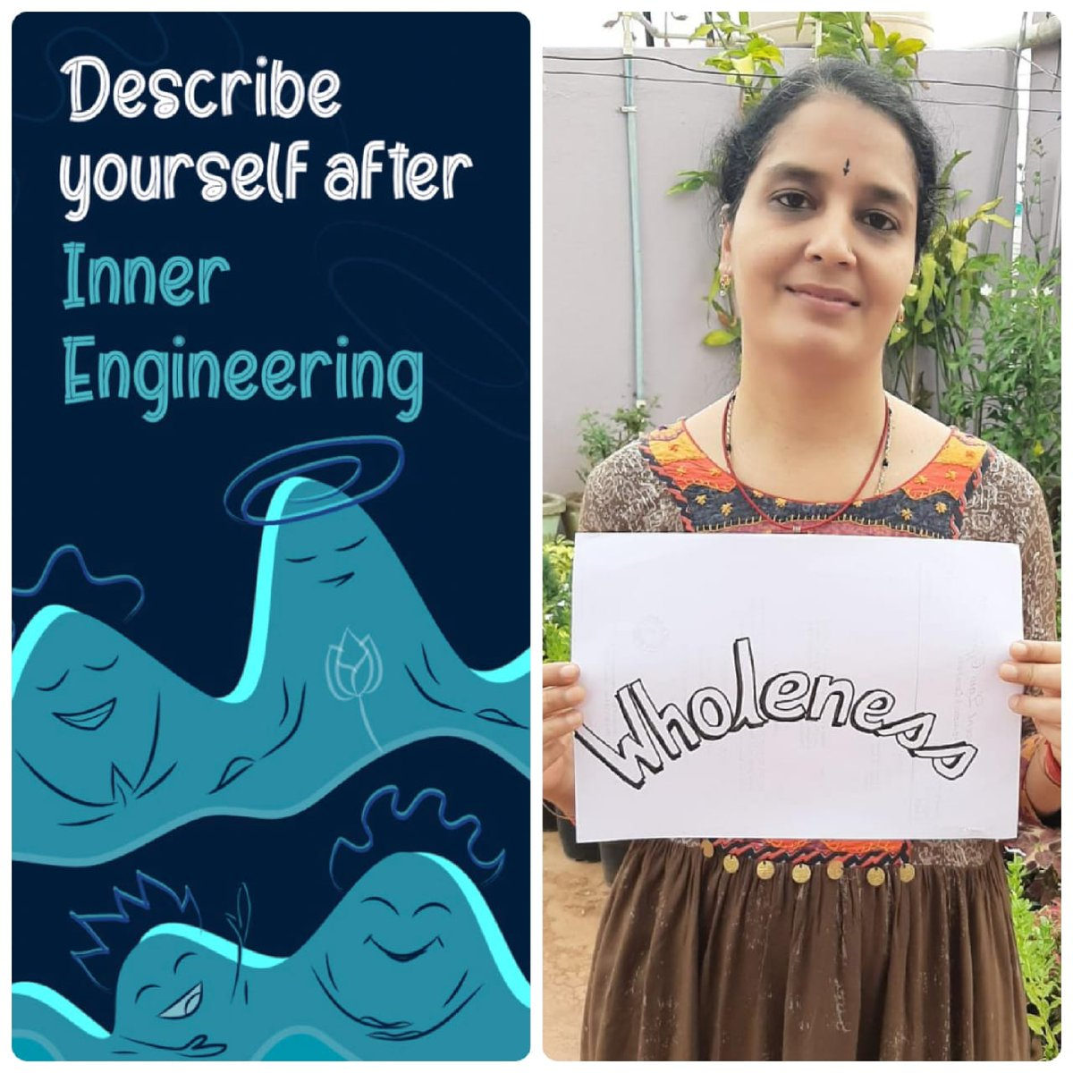 #MyInnerEngineering Inner Engineering has turned into a blessing!!. Has made me wholesome. I have rediscovered myself.  Register for Inner Engineering Online (IEO) which is offered at 50% reduced fee for this month and free for COVID Warriors  http:// isha.co/IEO    <br>http://pic.twitter.com/IP8gBtPwrZ