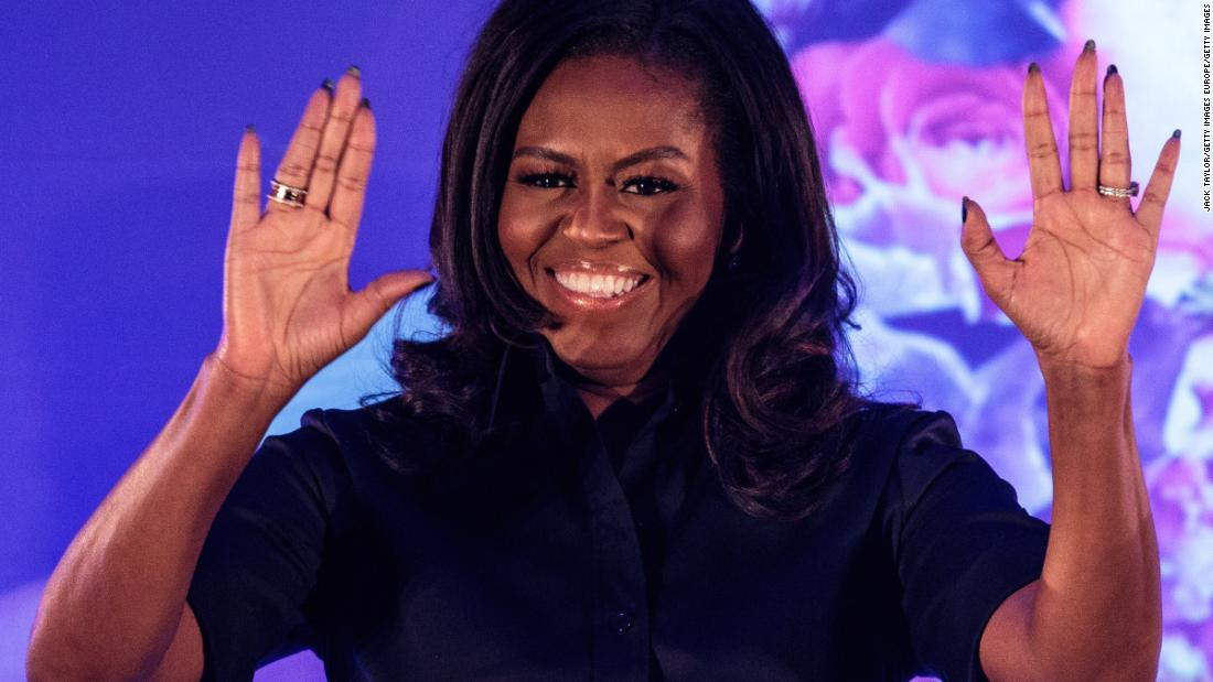 Michelle Obama partners with MTV for a national virtual prom