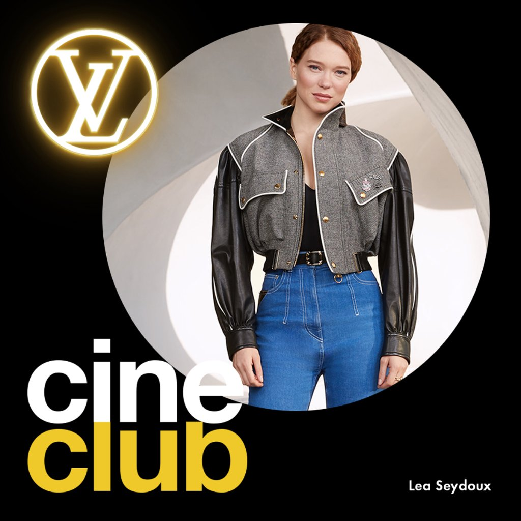 LV Cine Club with #LeaSeydoux #LouisVuittons ambassadors are sharing a current selection of movies and series to watch while at home. Discover Léa's picks now.