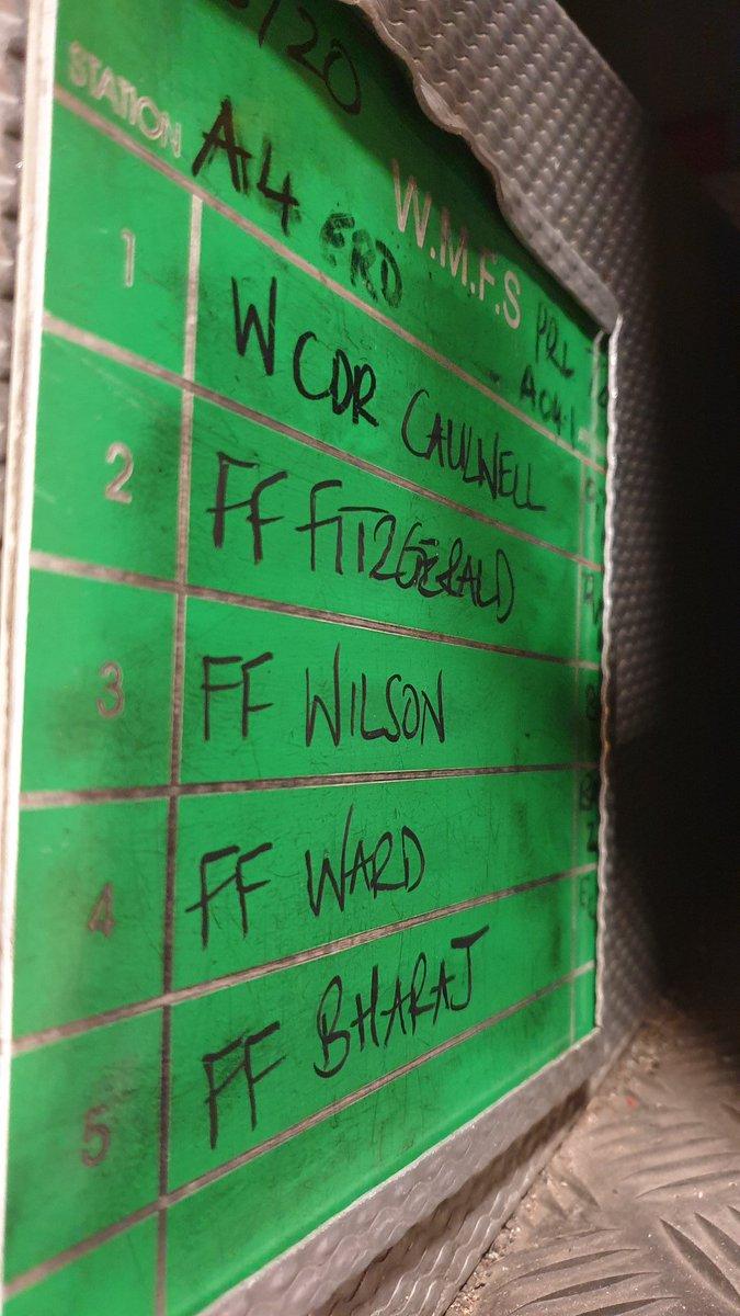 A041 @ErdingtonFire Name of Thrones #crewboard #readywillingable 🚒👨🚒👨🚒👨🚒👨🚒👩🚒🚒