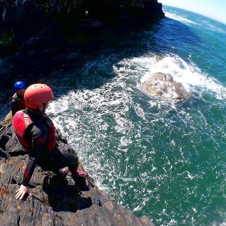 Memory of the day - Coasteering: Everything your mum told you NOT to do at the beach!!   #adventurebeyond #cardiganbayactive #fun #outdoors #active #outdooractivities #outdoorlife #fitness #fit #coasteer #coasteering #beach #beachlife #ocean #oceanview #sea #jump #swim #swimmingpic.twitter.com/M8gY3pGLPB