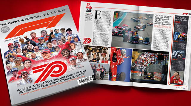 Wondering what to do this weekend? Celebrate the 70th anniversary of @F1 by reading the history of the sport in Issue 3 of The Official Formula 1 Magazine. New subscribers can get a discount when they use code FV30 at https://t.co/PoabmWpKvS #F1 https://t.co/yjhC7WxalE