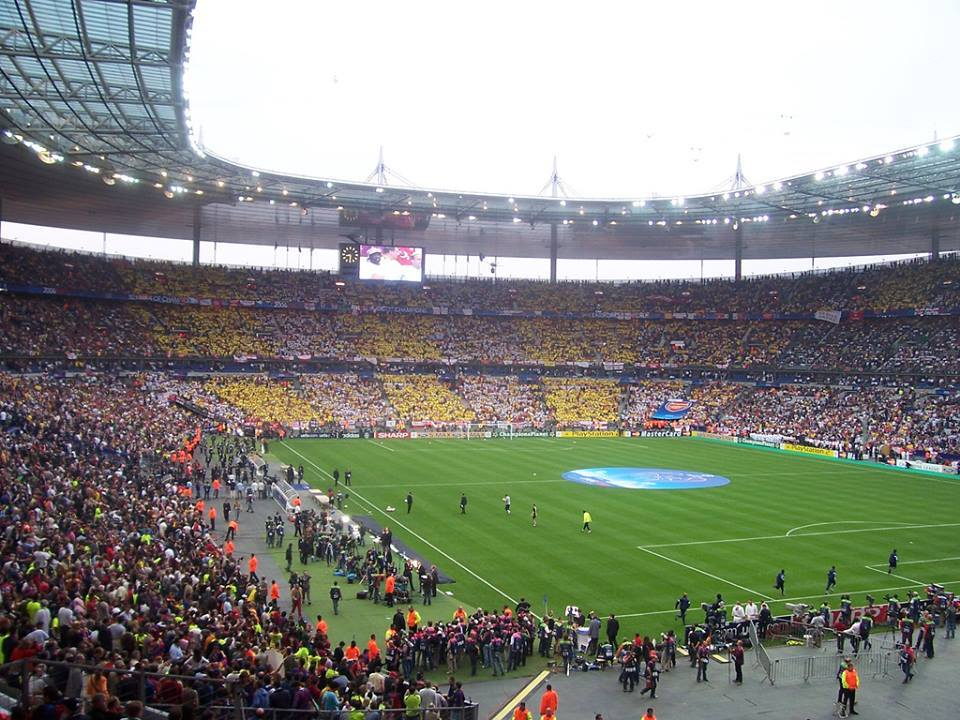 ON THIS DAY 2006: Arsenal at Stade De France for the Champions League Final against Barcelona #AFC