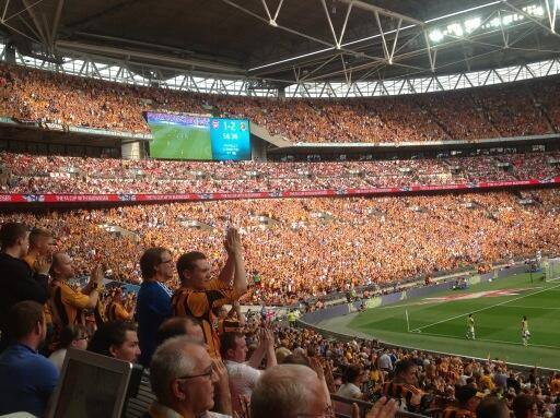 ON THIS DAY 2014: Hull City at Wembley for the FA Cup final against Arsenal #HCAFC