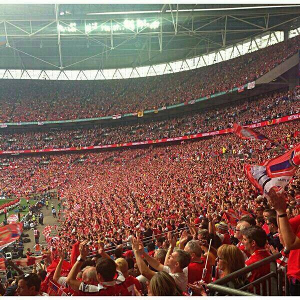 ON THIS DAY 2014: Arsenal win the FA Cup Final at Wembley against Hull City #AFC
