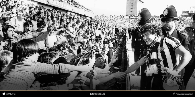 ON THIS DAY 1984: Kevin Keegans last ever game for Newcastle United #NUFC