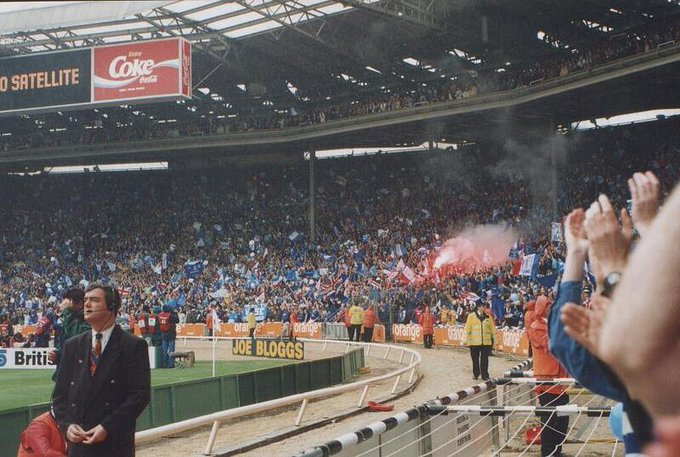 ON THIS DAY 1997: Chelsea win the FA Cup at Wembley against Middlesbrough #CFC