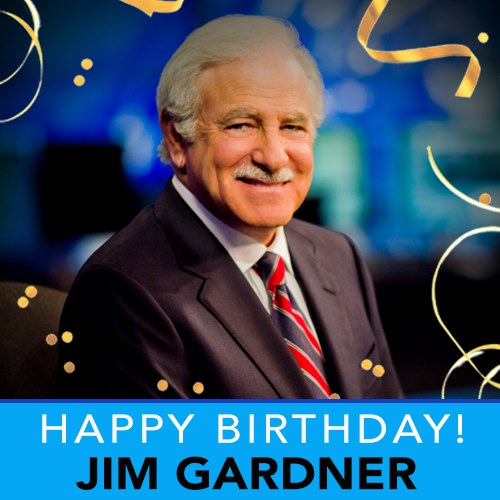 Today we are wishing a VERY happy birthday to the one and only Jim Gardner ! 🥳️🎉 https://t.co/bzxjaGrzfJ