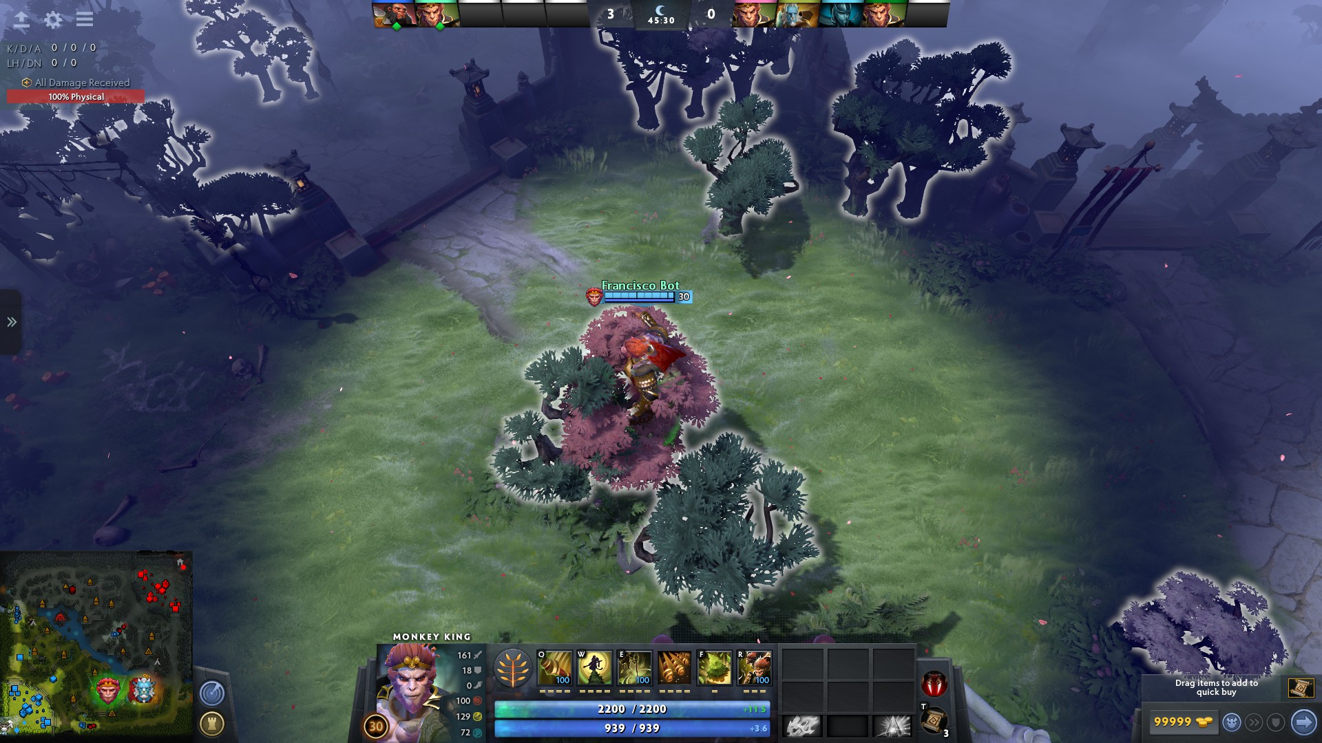 Reddit Dota 2 On Twitter Monkey King S Tree Dance Vision Aoe Is