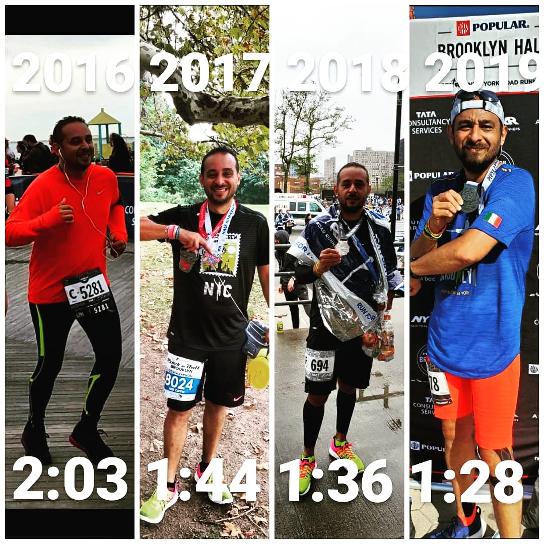 Never stop dreaming! my first half and so far my fastest! #popularbkhalf #popularbrooklynhalf https://t.co/so0FawVdUF