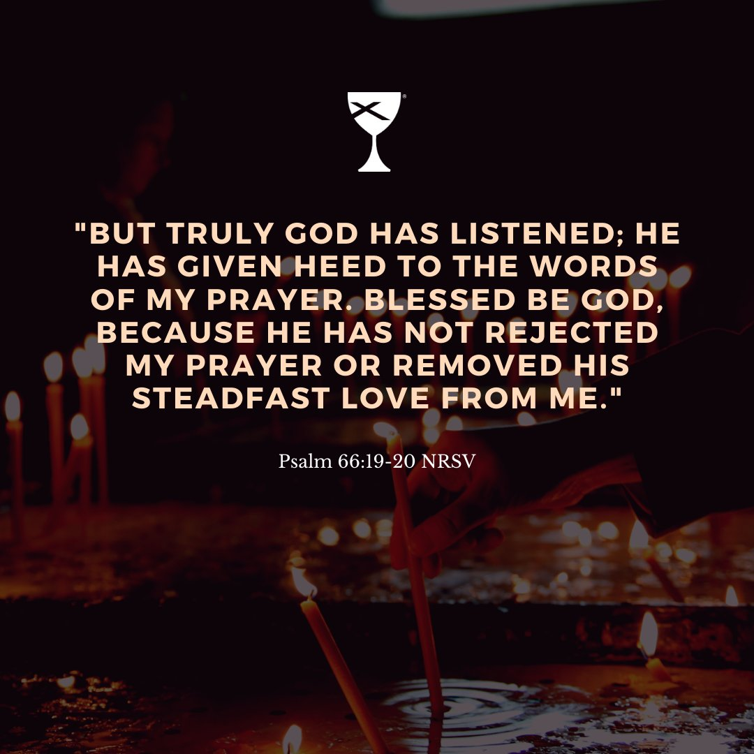 As Disciples of Christ, we know that God answers our prayers.