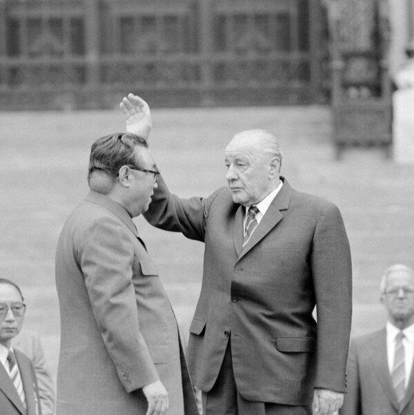Редкое фото лидера КНДР Ким Ир Сена