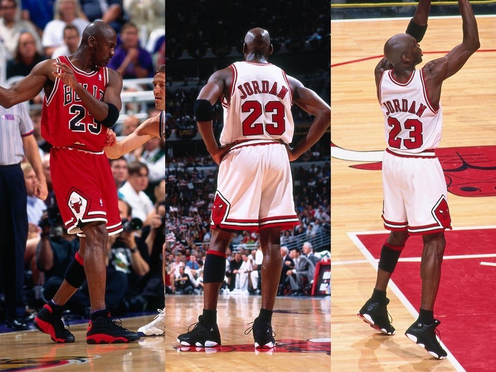 Did You Know... MJ wore a XIII low in the 1998 #NBAFinals!  https://t.co/dociCFdQ0V  The LAST DANCE concludes 9:00pm/et on ESPN & Netflix internationally. https://t.co/q764fZPsJw
