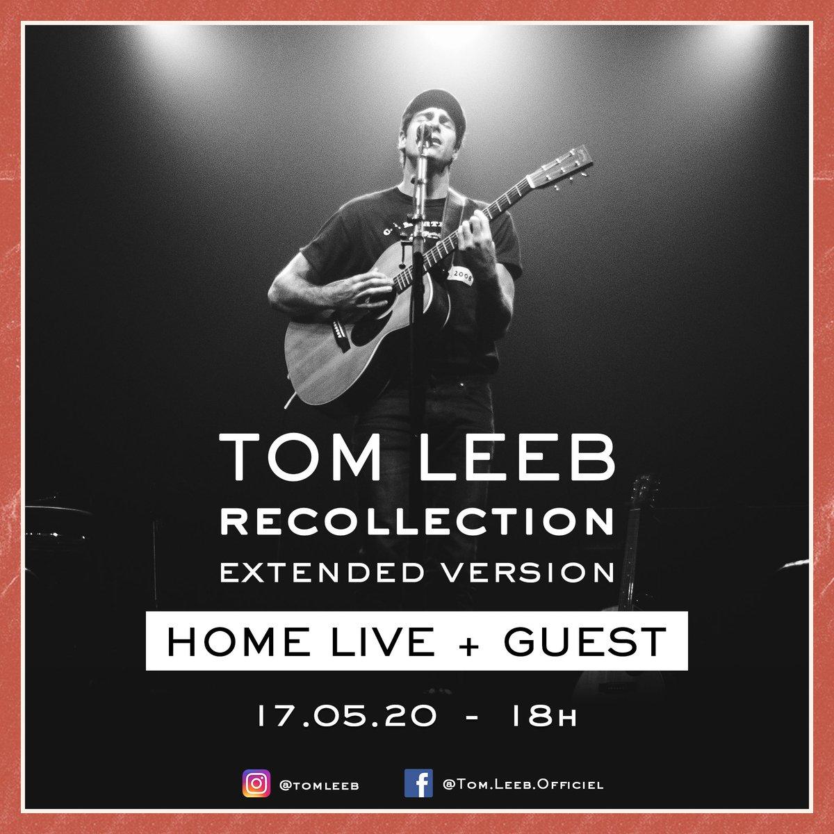 Home live concert à 18h sur Instagram, avec guest surprise !  Je profiterai de cet événement pour vous jouer les titres de la reedition 🙏🏻 #recollection #àtoutàlheure https://t.co/FrskaFOIJm